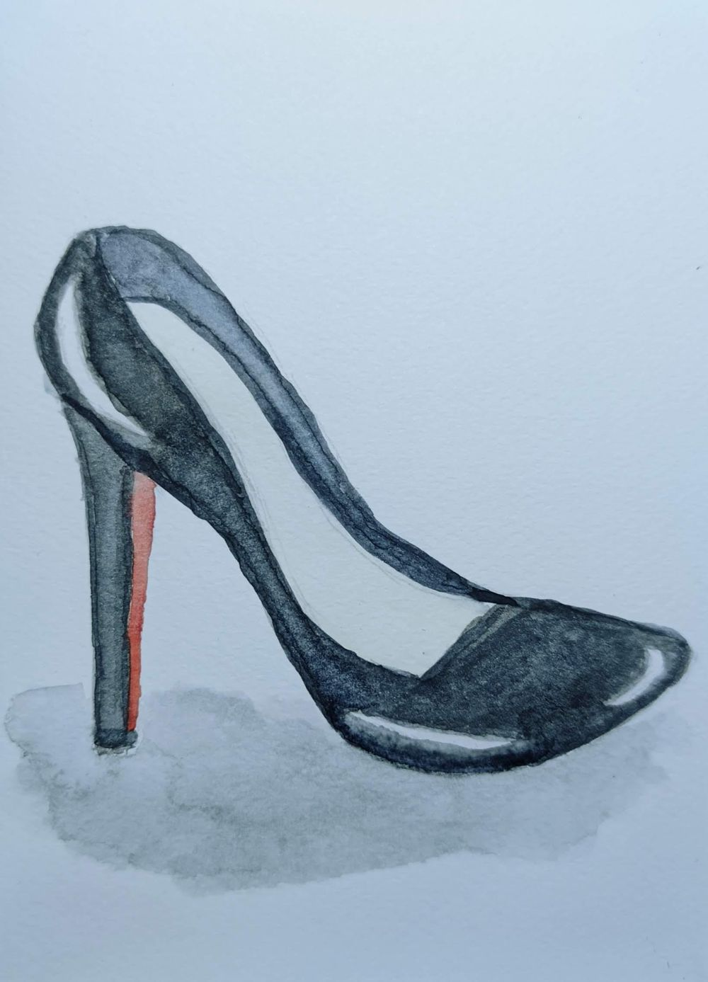 Leather Shoe - image 1 - student project