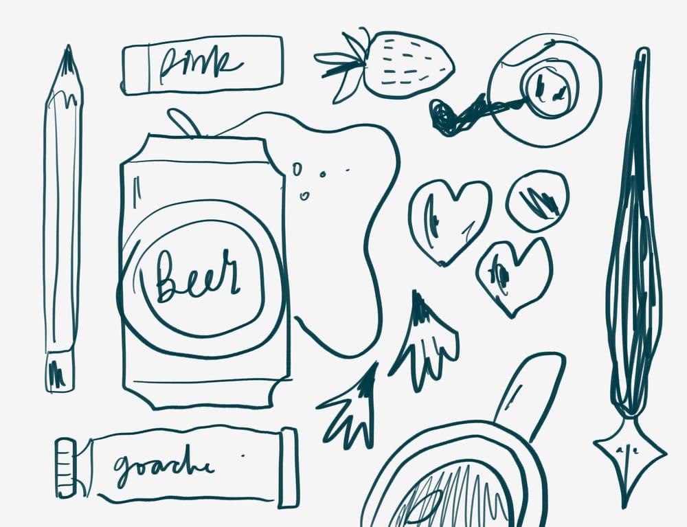 Valentines Illustration Club - image 2 - student project