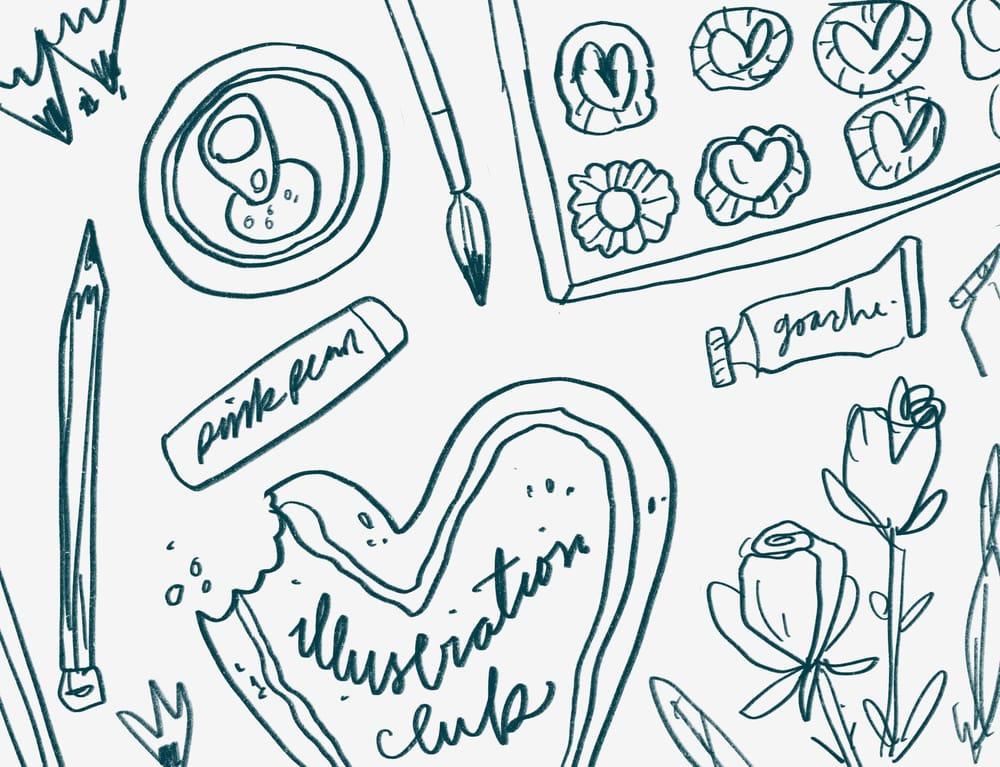 Valentines Illustration Club - image 1 - student project