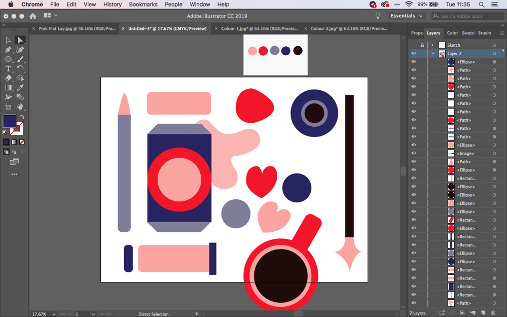 Valentines Illustration Club - image 3 - student project