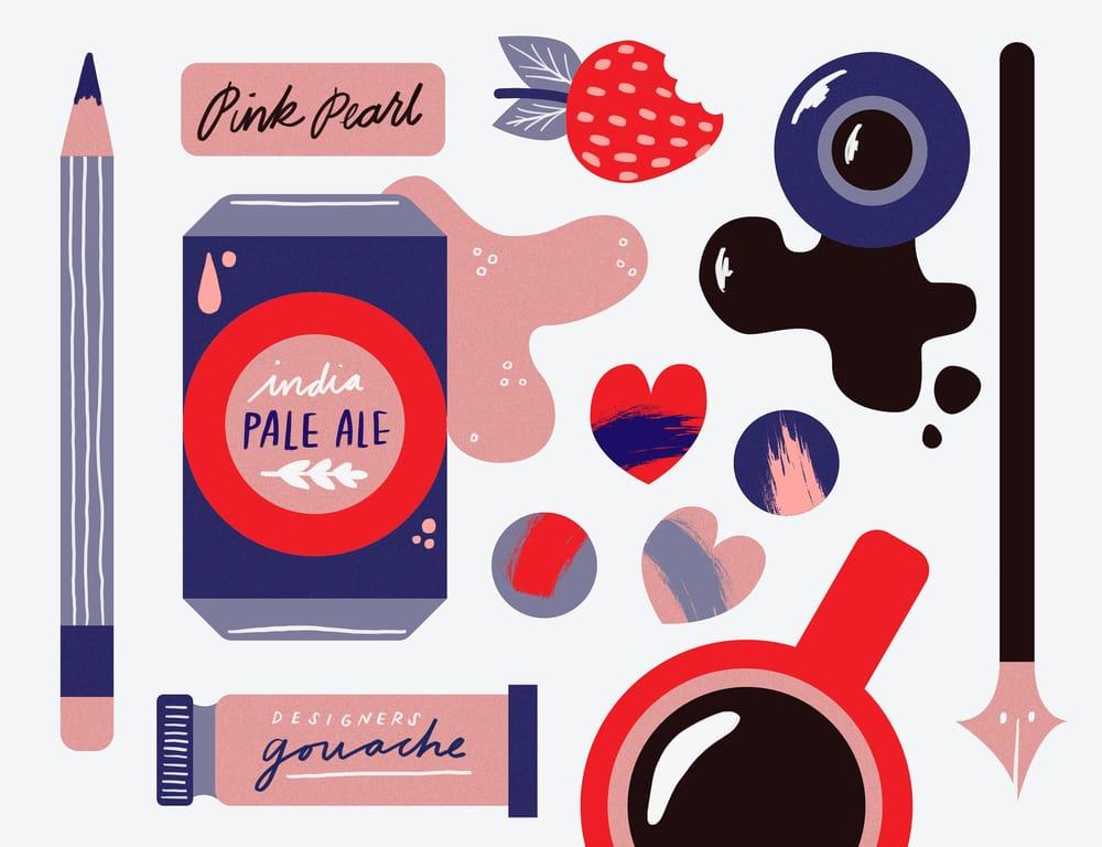 Valentines Illustration Club - image 4 - student project