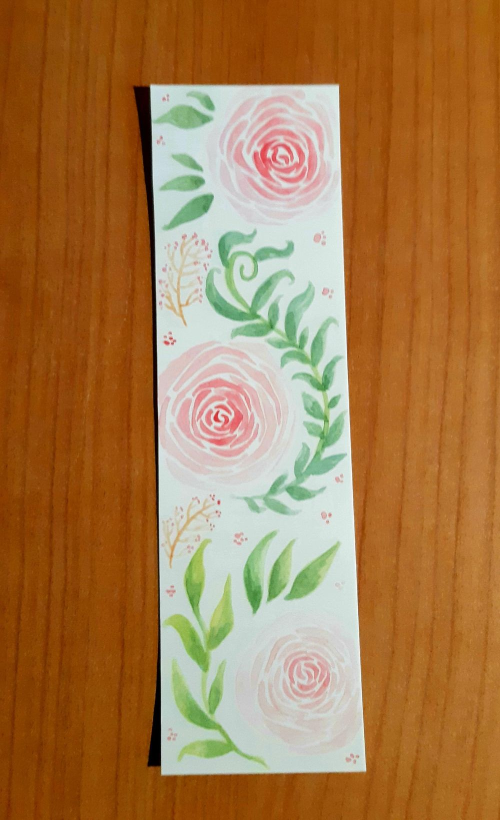Roses Bookmark - image 1 - student project