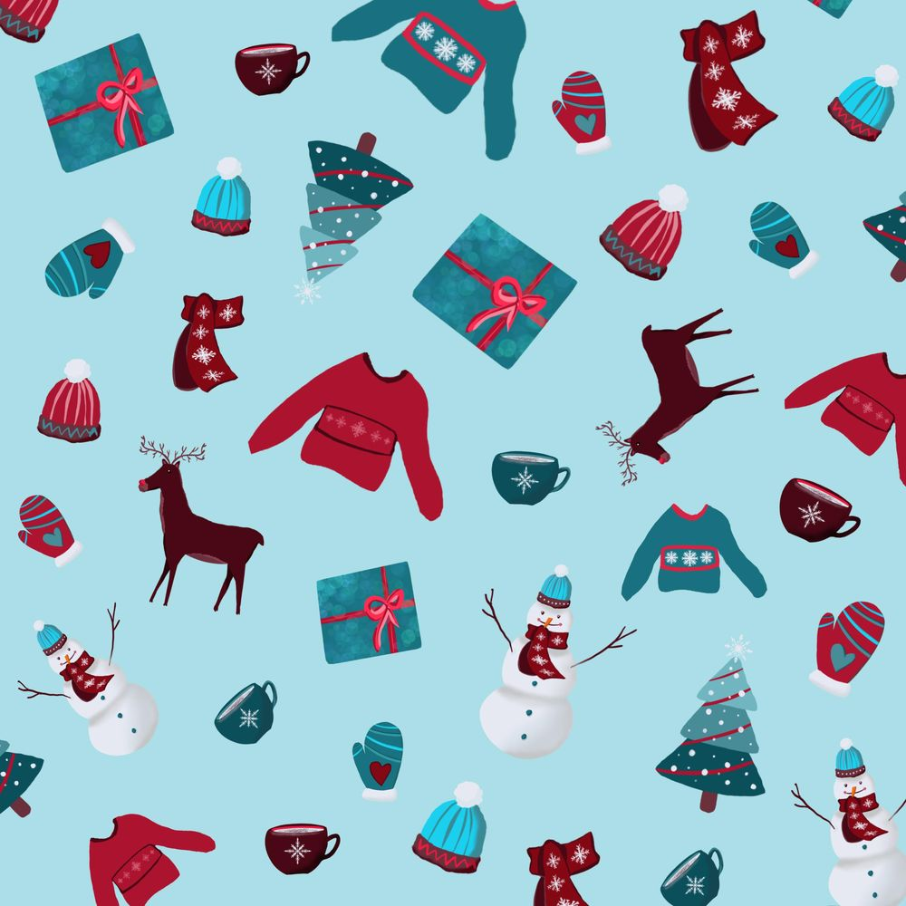 Christmas Pattern - image 1 - student project