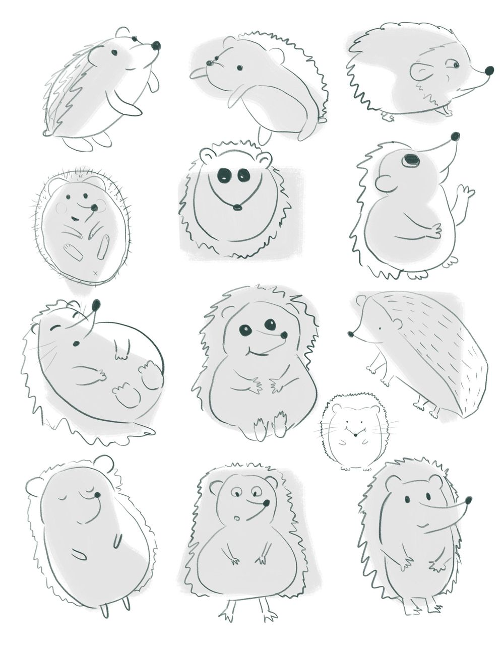 Cute Hedgehog - image 1 - student project