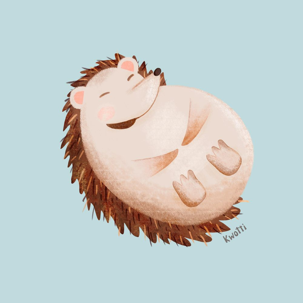 Cute Hedgehog - image 2 - student project