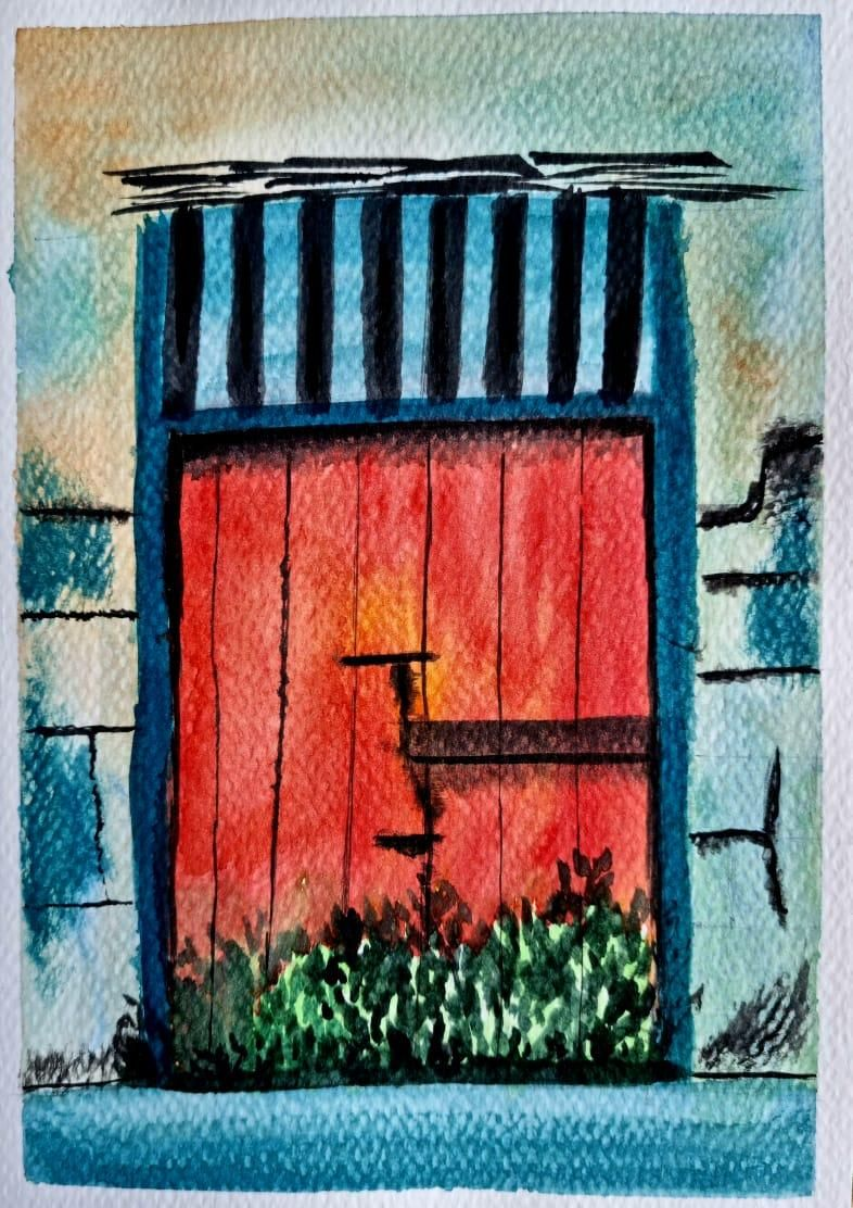 RUSTIC DOORS - image 1 - student project