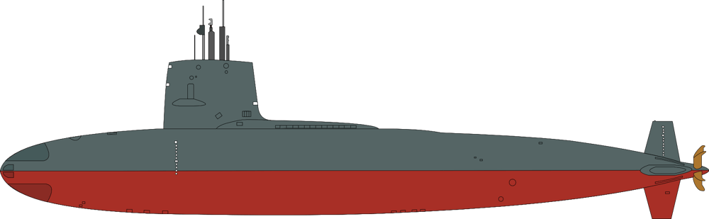 USS Scorpion (SSN-589) Skipjack-class nuclear submarine - image 1 - student project