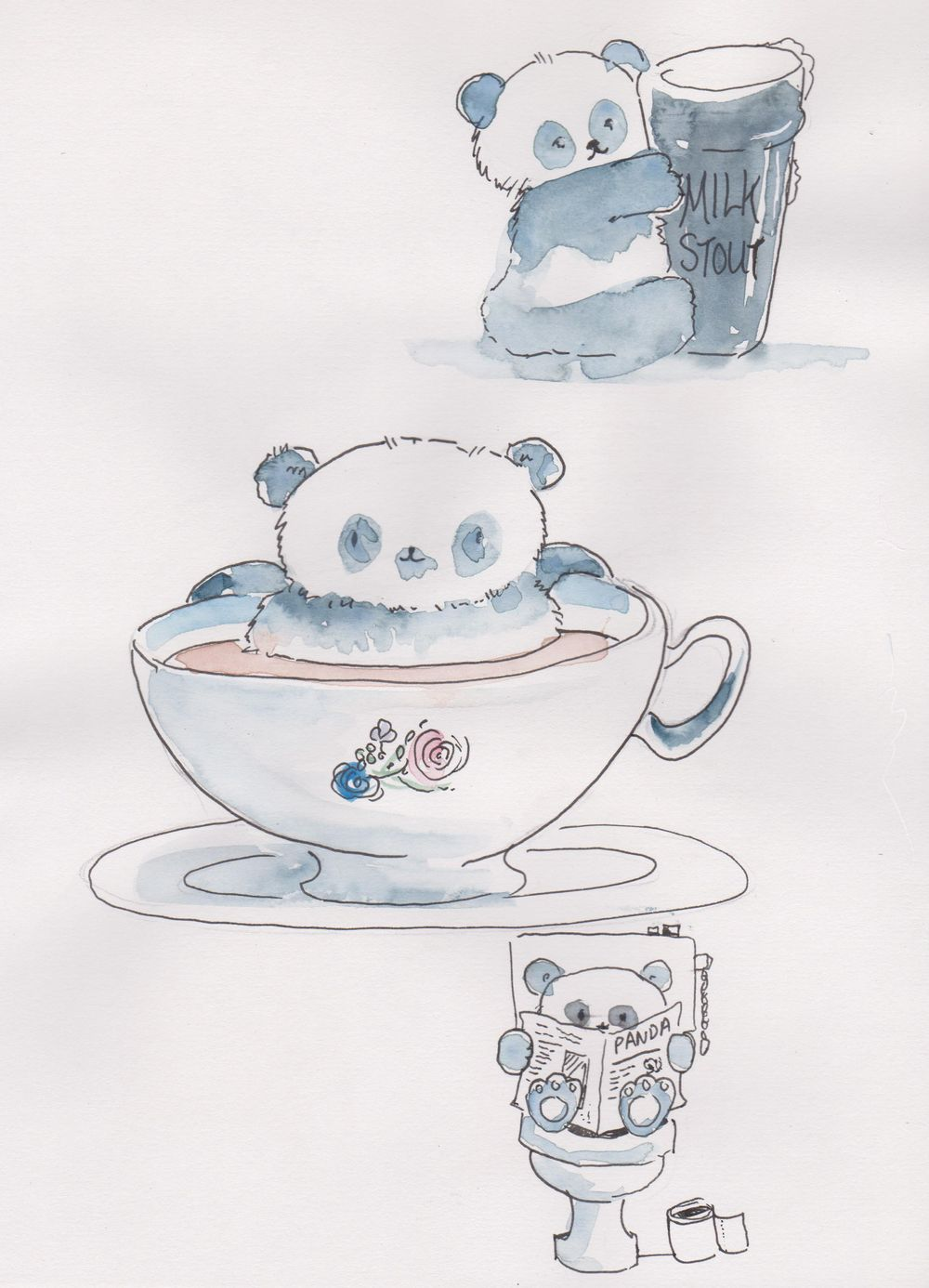 Pandas, cats and cows.. - image 1 - student project