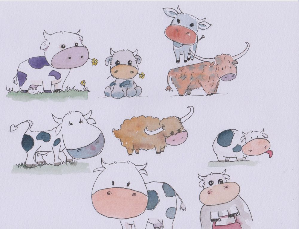 Pandas, cats and cows.. - image 2 - student project