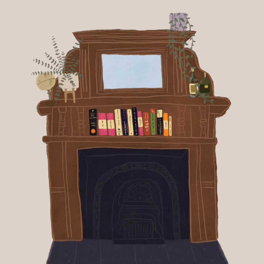 By the Fireplace - image 1 - student project
