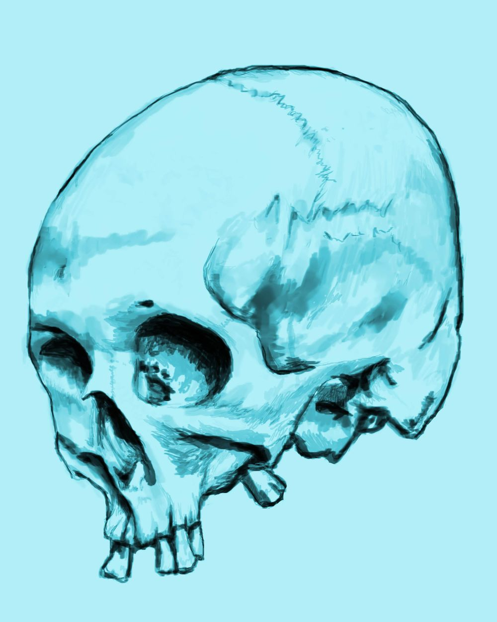 Skullchedelic - image 1 - student project