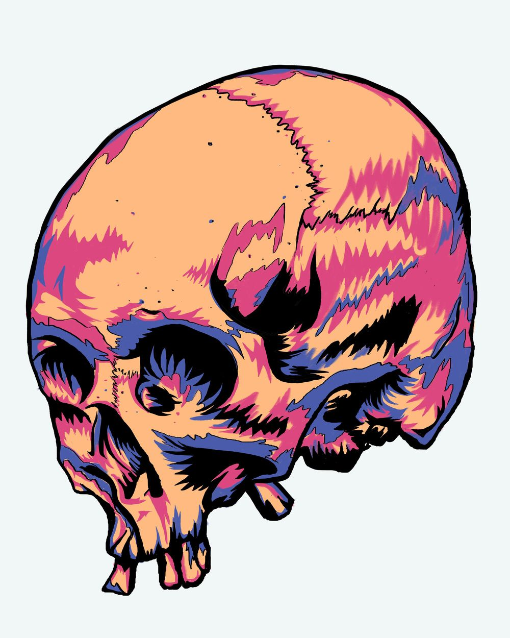 Skullchedelic - image 2 - student project