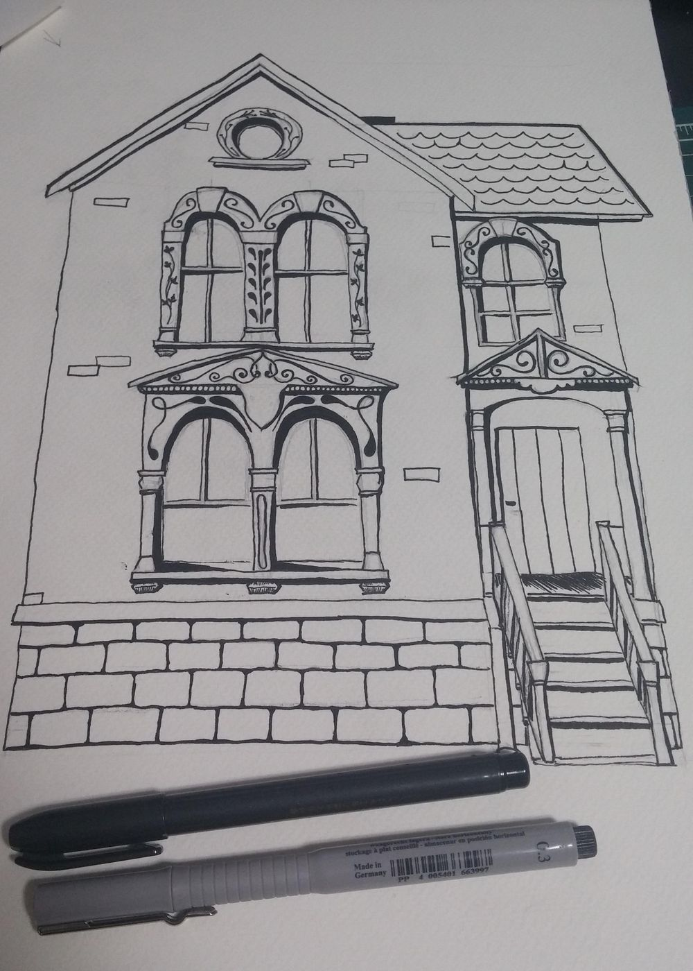 A Restoration of Old and Abandoned Houses - image 3 - student project