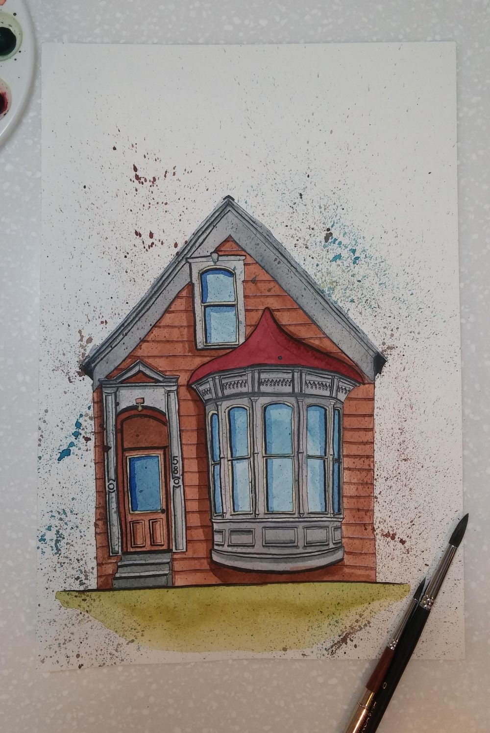 A Restoration of Old and Abandoned Houses - image 8 - student project