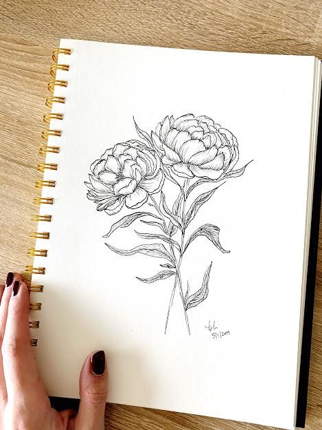 Pretty Peonies - image 1 - student project
