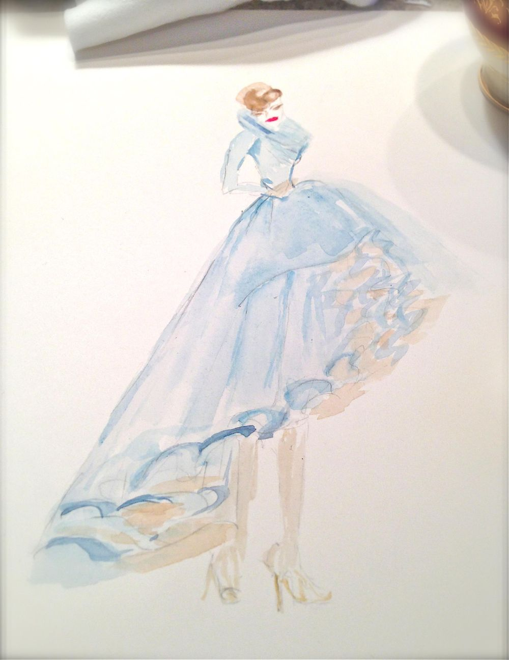 UPDATED WATERCOLOR  - Inspiration Antoinette - image 5 - student project