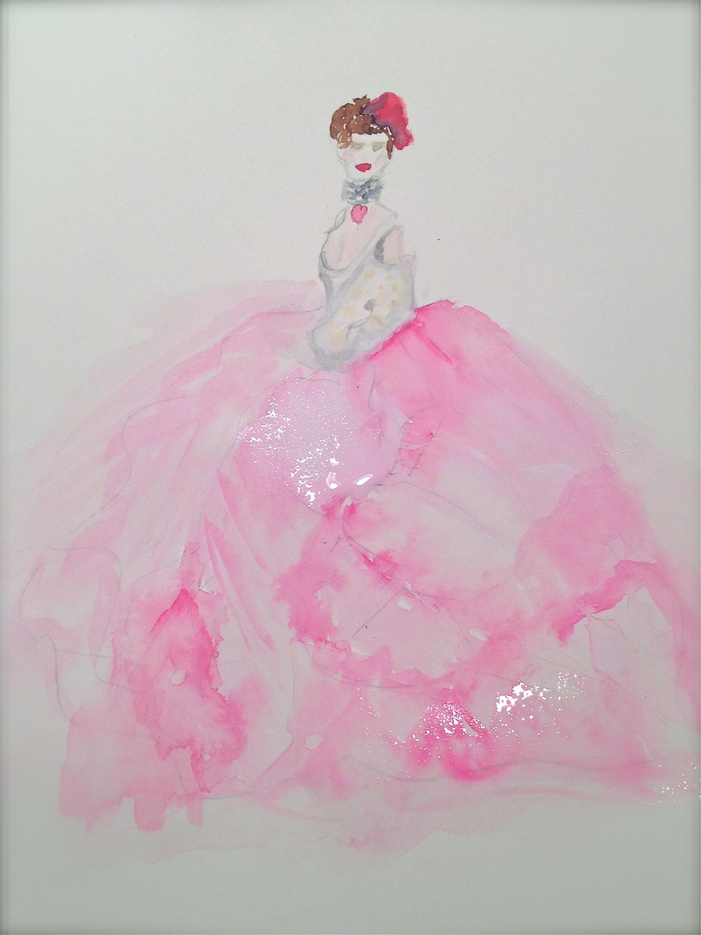 UPDATED WATERCOLOR  - Inspiration Antoinette - image 4 - student project