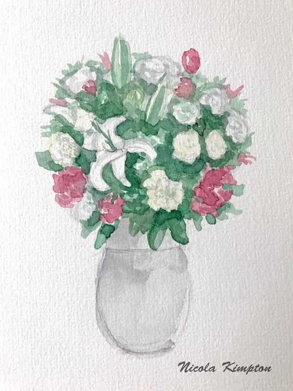 Painting White in Watercolor - image 1 - student project