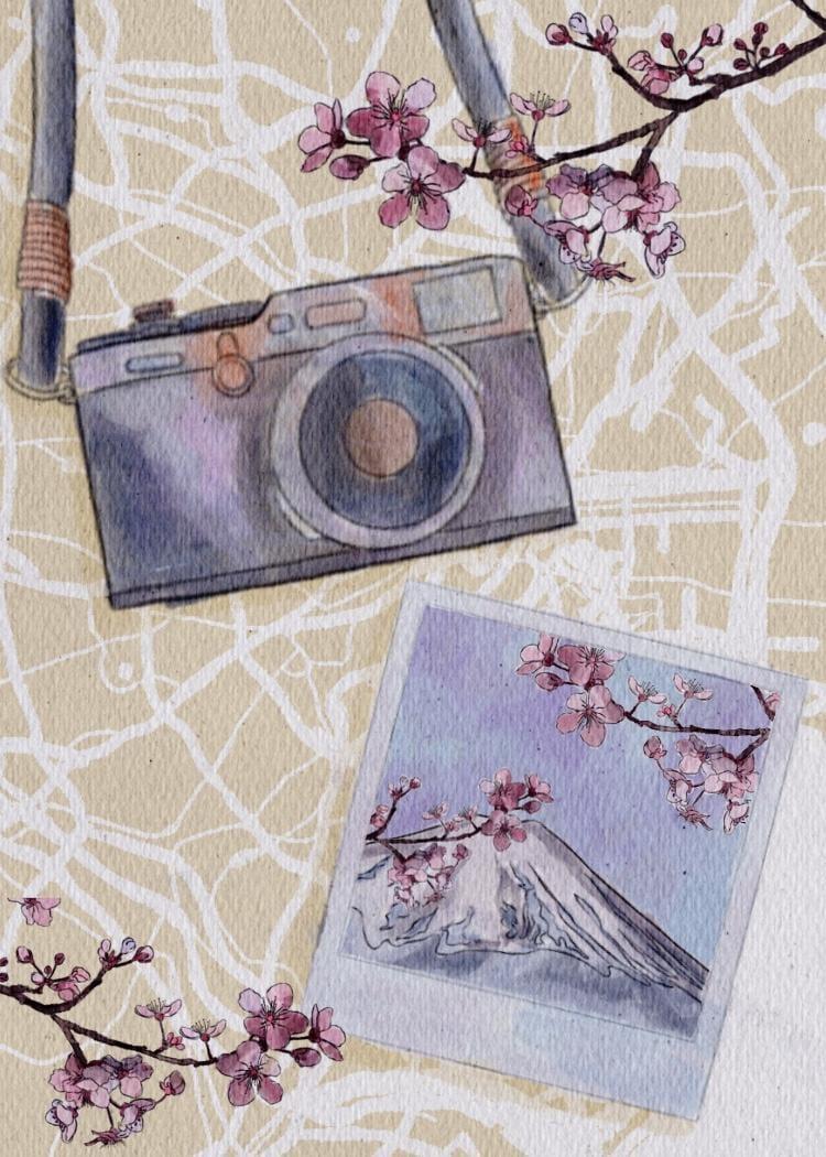 Travel Illustration - image 1 - student project