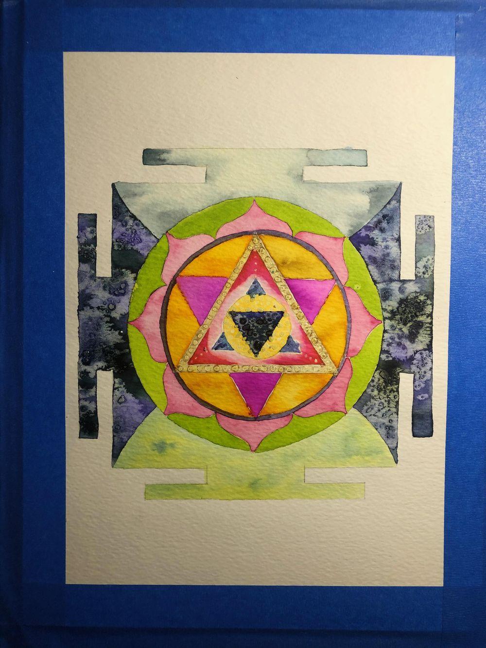 Infinite Healing Mandala - image 1 - student project