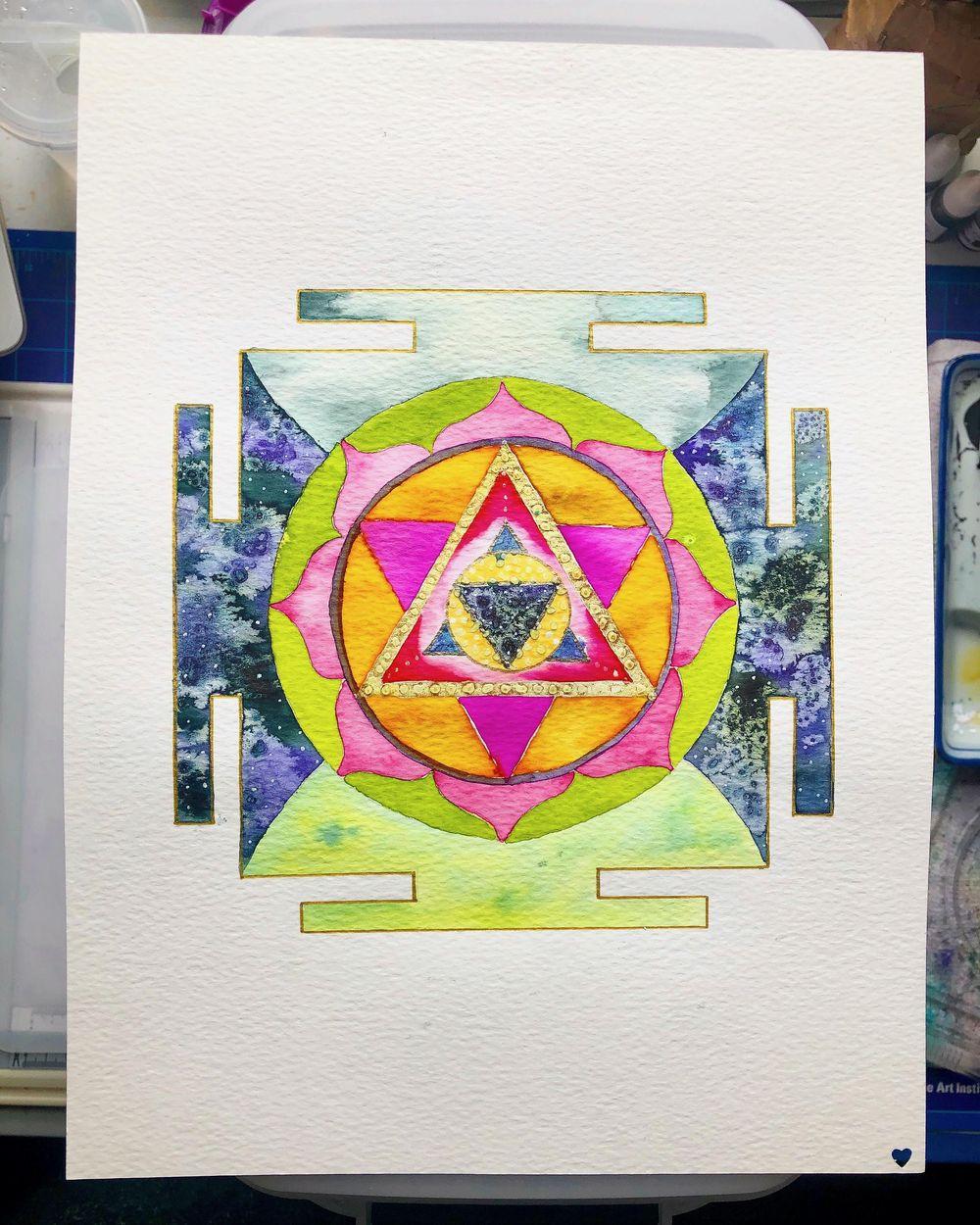 Infinite Healing Mandala - image 2 - student project