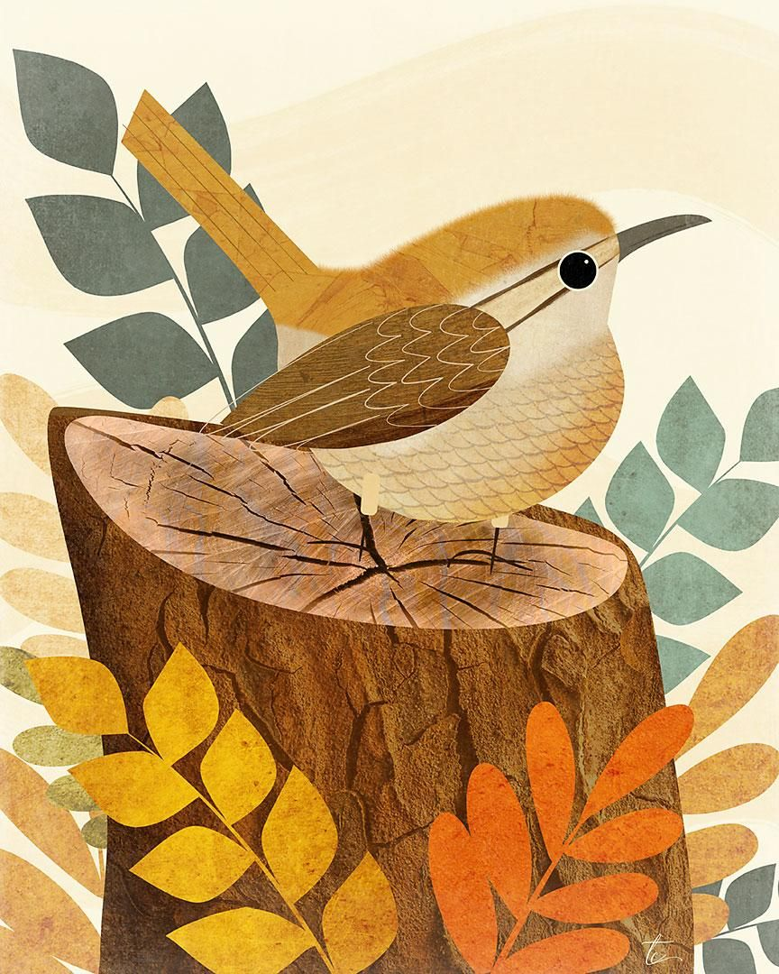 Sharing my love of all things birds, texture and Affinity Designer - image 6 - student project