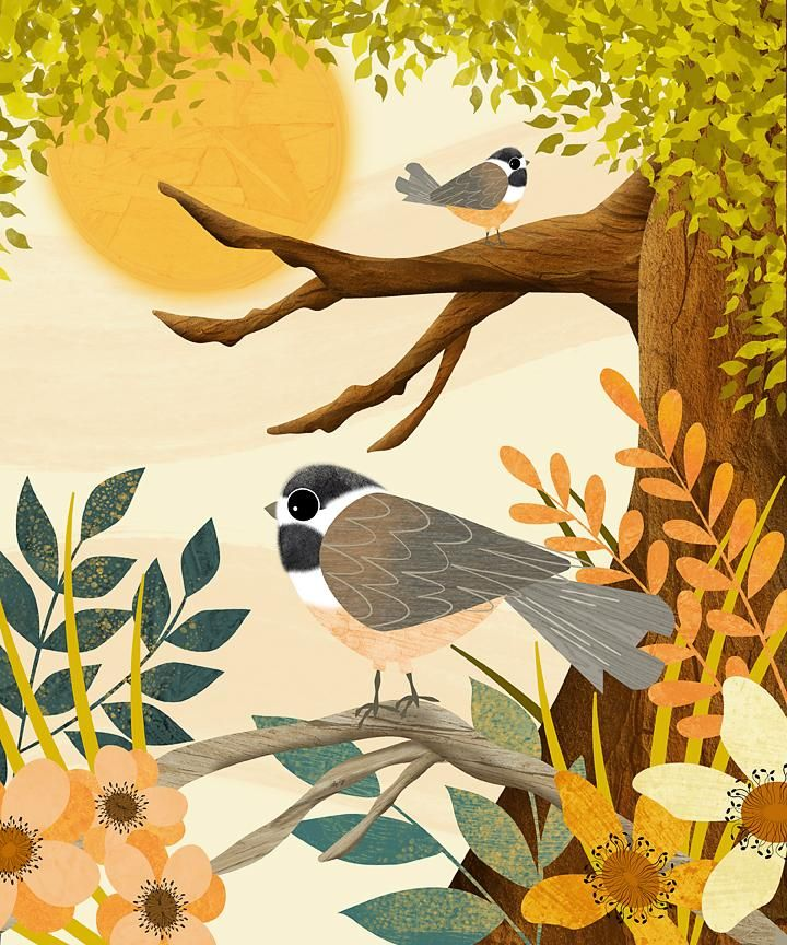 Sharing my love of all things birds, texture and Affinity Designer - image 2 - student project