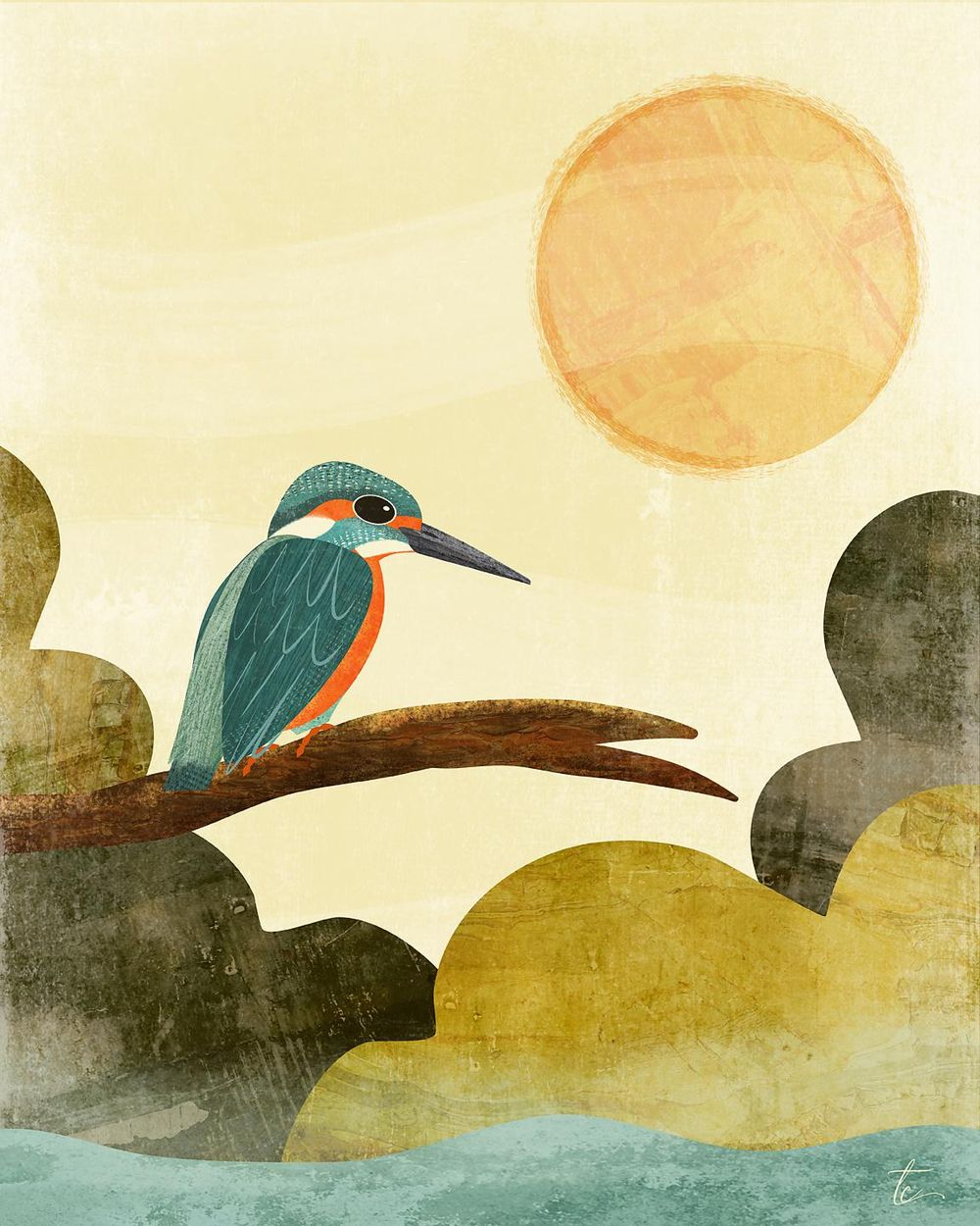 Sharing my love of all things birds, texture and Affinity Designer - image 4 - student project