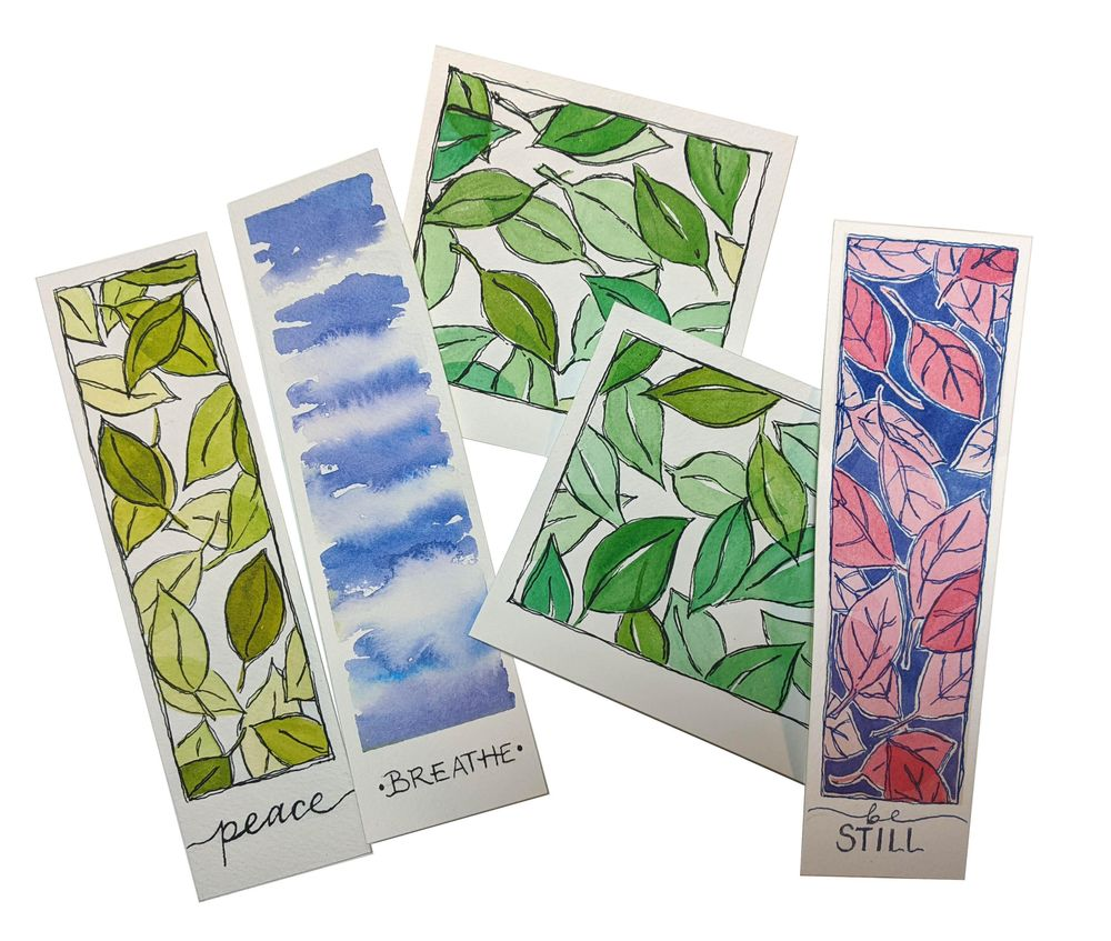 Relaxing Watercolors - image 1 - student project