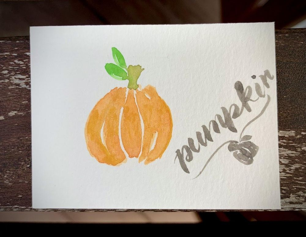5 Fall Paintings - image 1 - student project