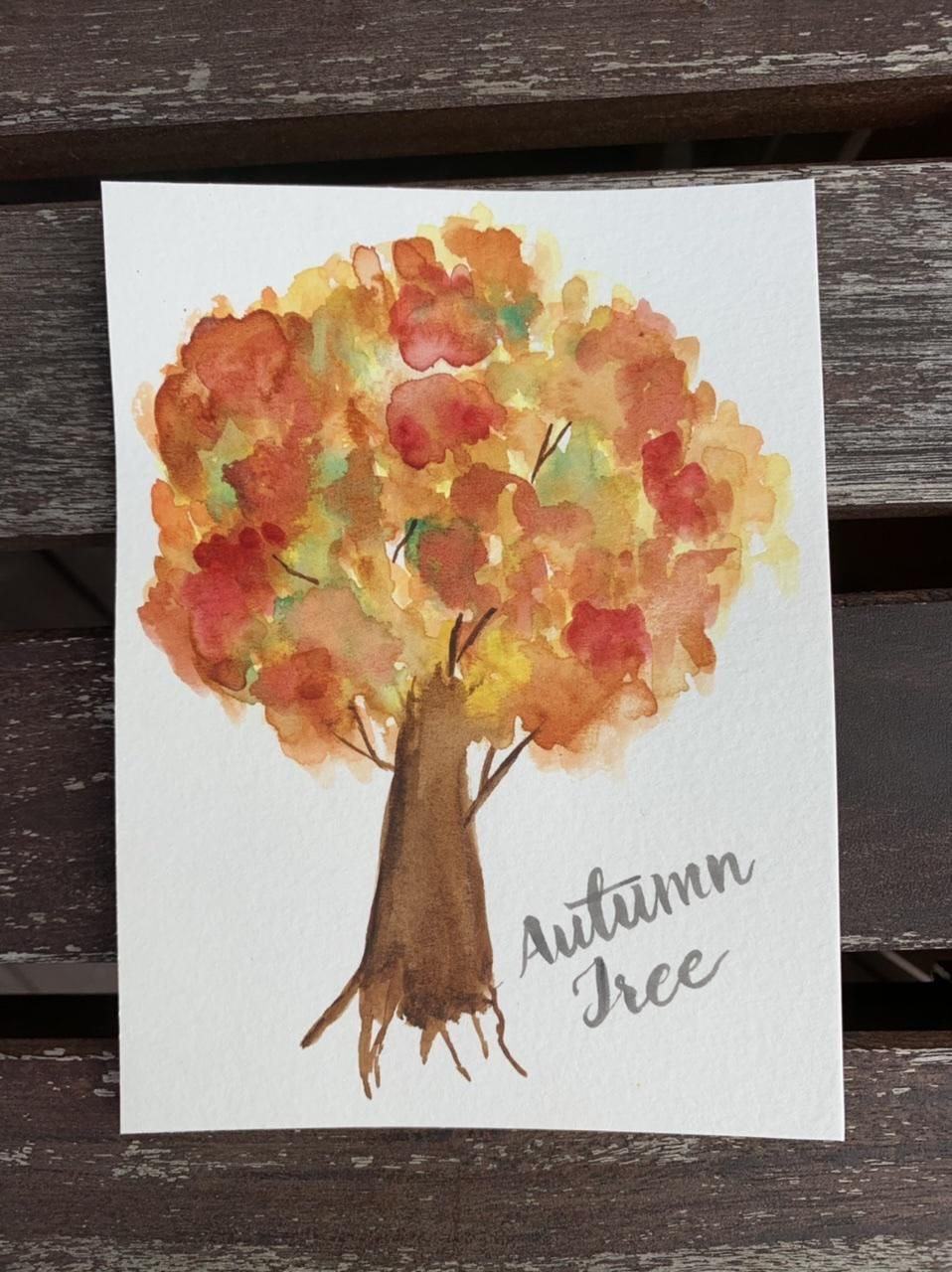 5 Fall Paintings - image 4 - student project
