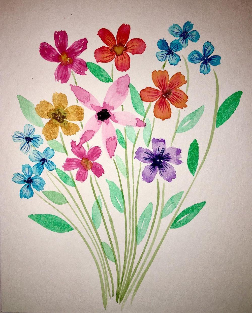5 Petals flower - image 1 - student project