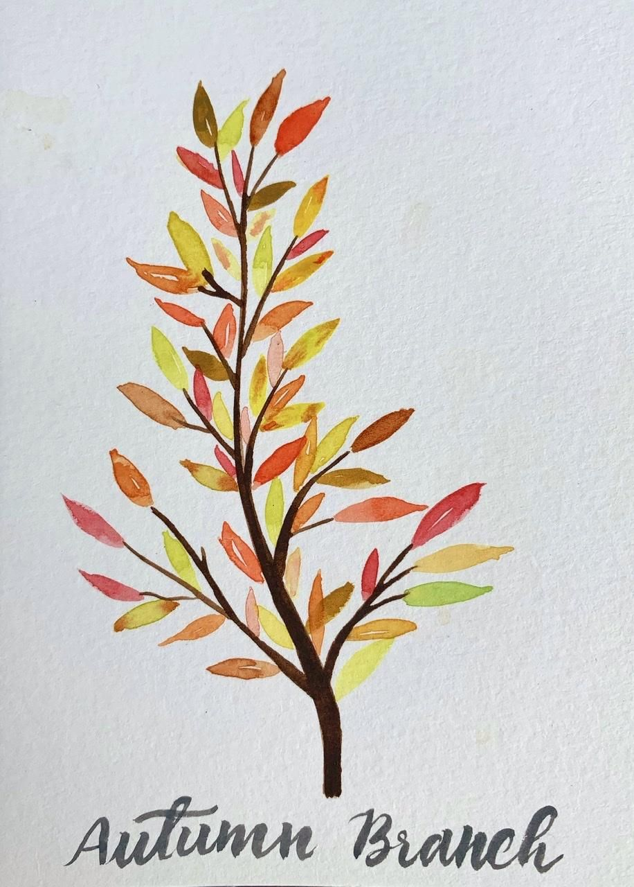 5 Fall Paintings - image 3 - student project