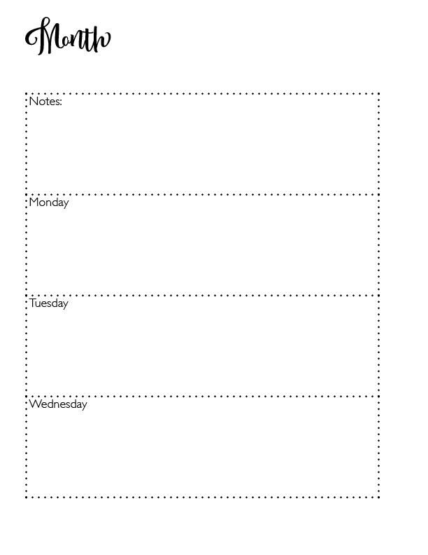 2020 Planner - image 2 - student project
