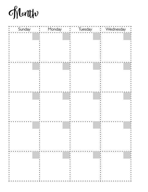2020 Planner - image 1 - student project