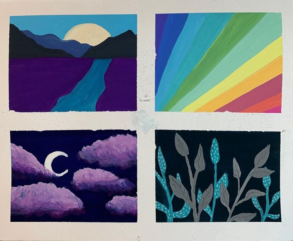 Gouache Sampler - image 1 - student project