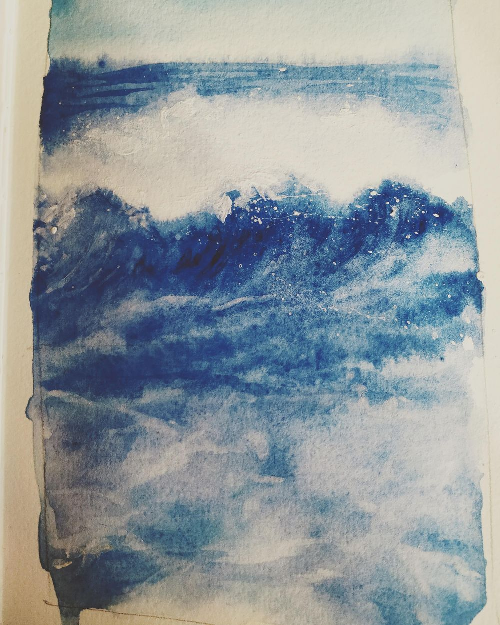 Ocean wave study - image 1 - student project