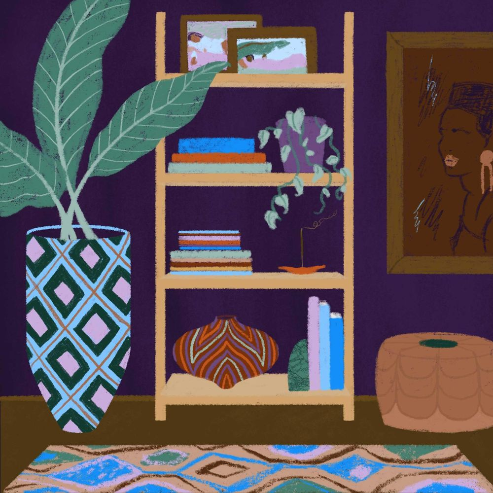African Inspired Interiors - image 1 - student project