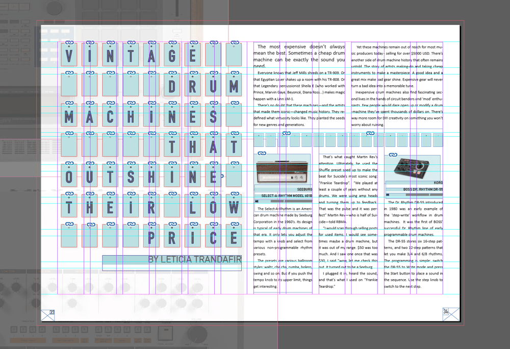 Analog Drum Machines - image 3 - student project