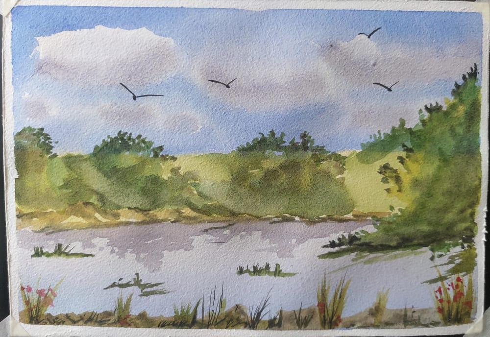 Expressive Landscape- Sagar Mainkar - image 1 - student project