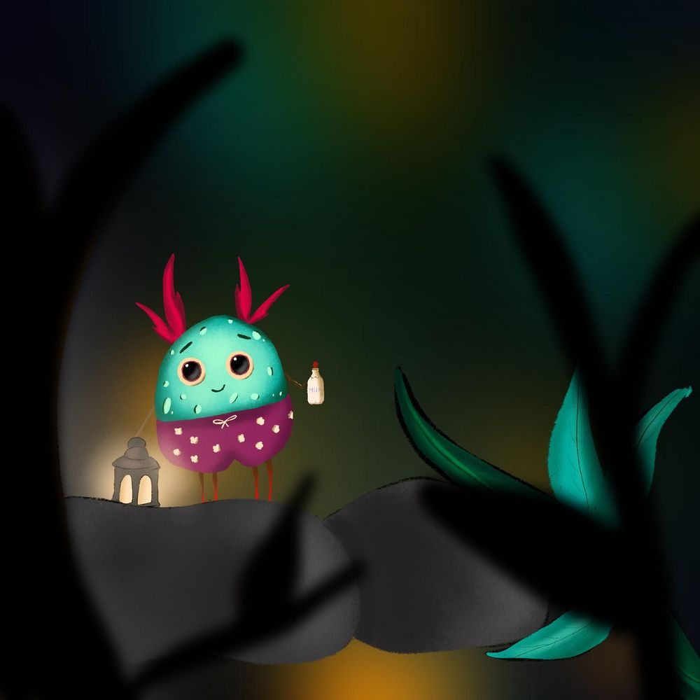 A happy hungry bug - image 1 - student project