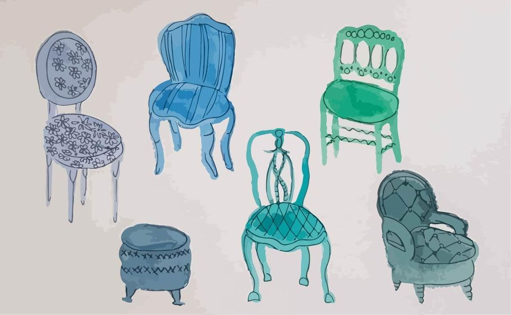 Vintage chairs - image 3 - student project