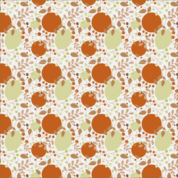 Citrus Pattern - image 3 - student project