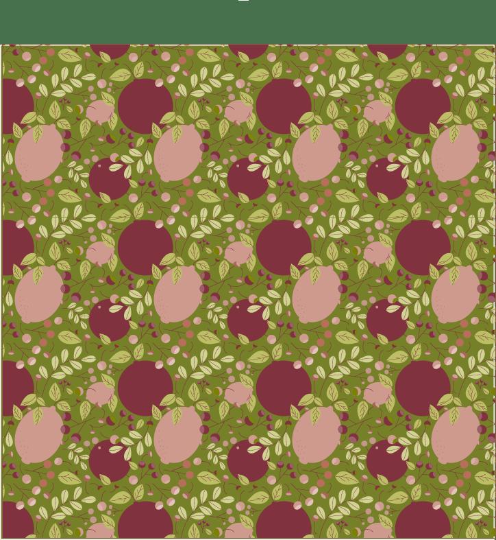 Citrus Pattern - image 1 - student project