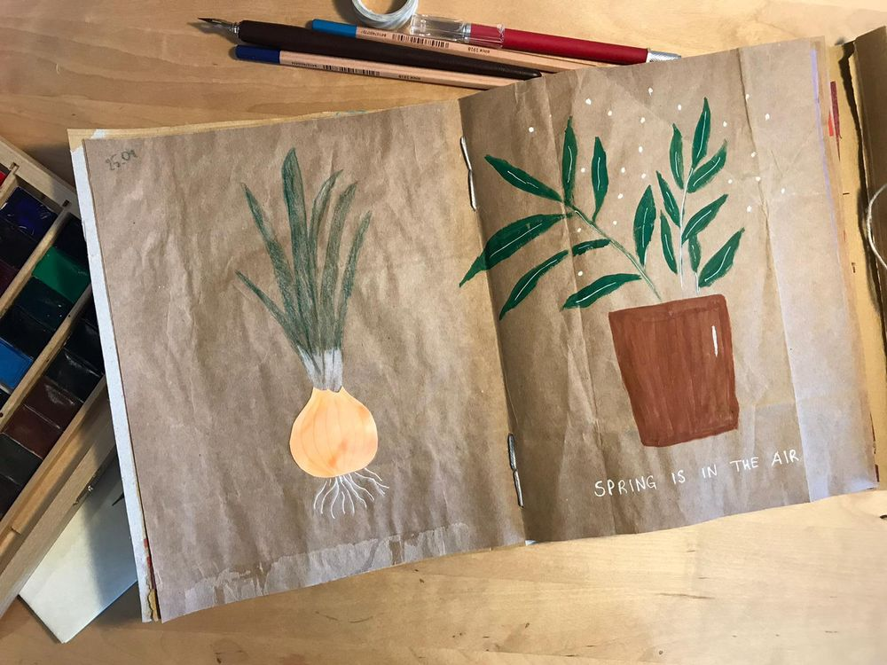 My sketchbook - image 4 - student project