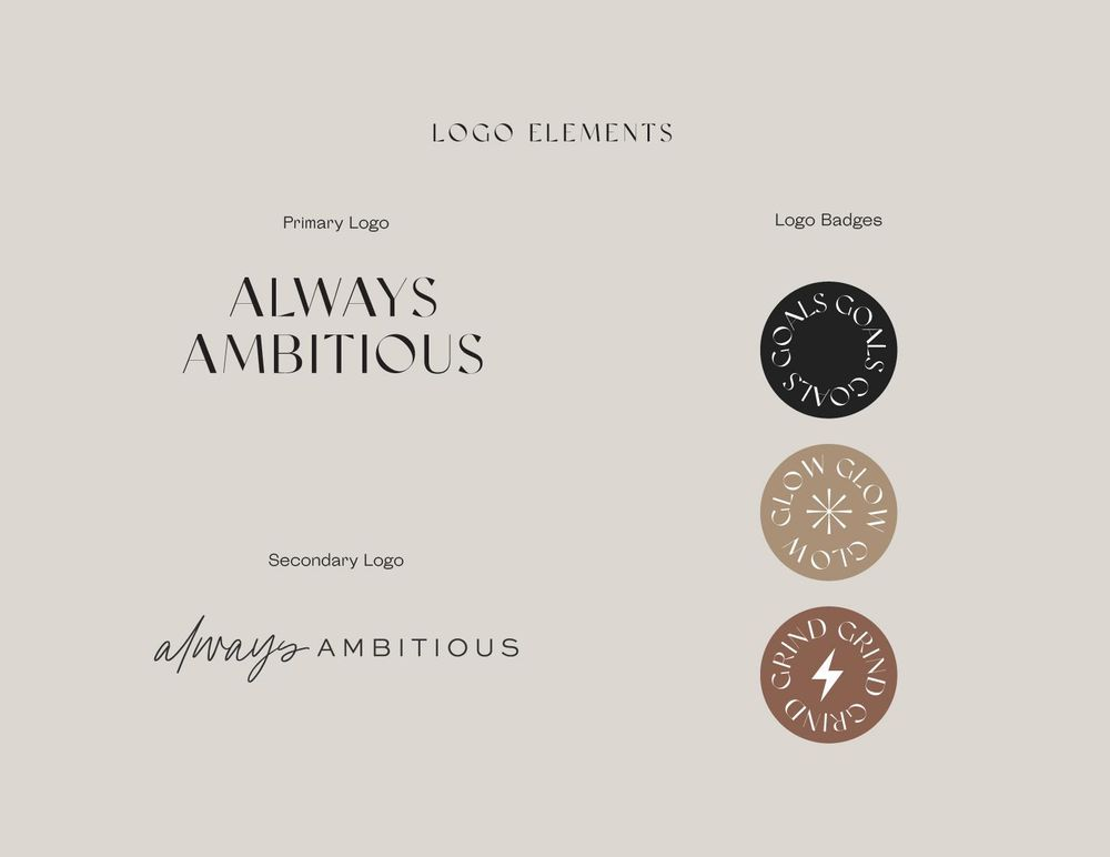 Brand Bible for Always Ambitious - image 2 - student project
