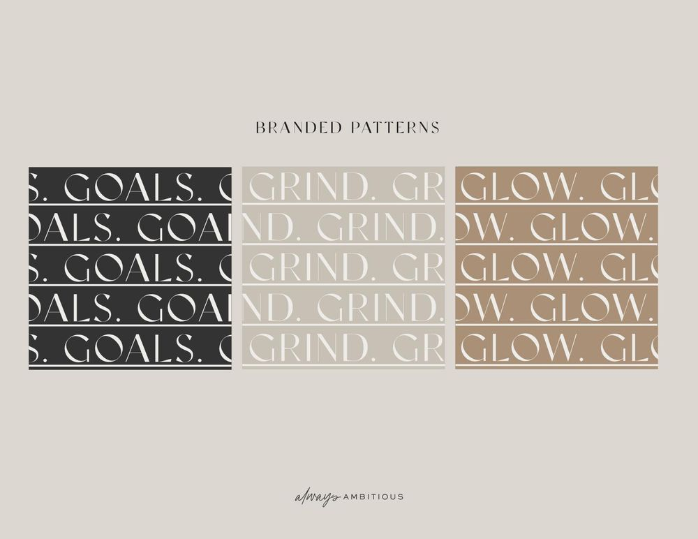 Brand Bible for Always Ambitious - image 3 - student project