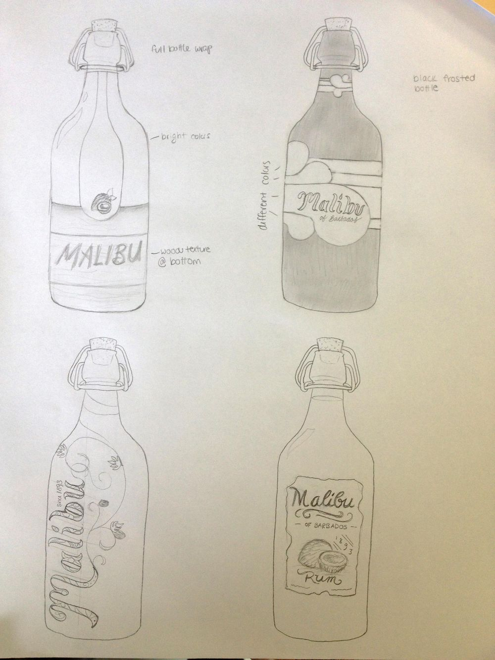 Malibu Rum - image 6 - student project