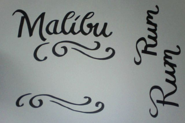 Malibu Rum - image 2 - student project