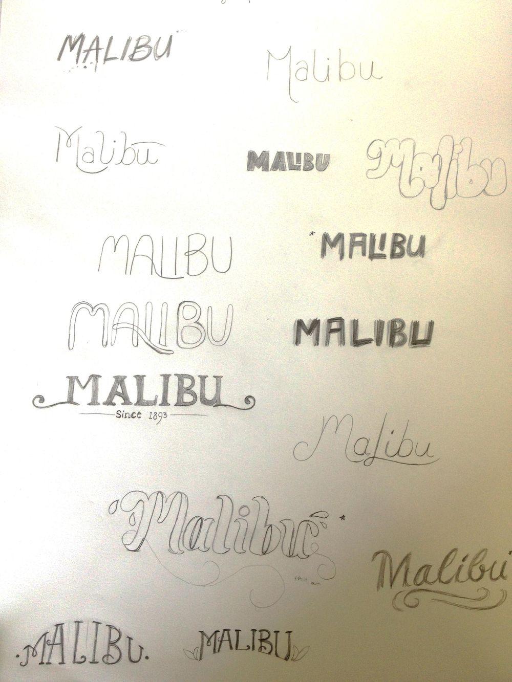 Malibu Rum - image 5 - student project